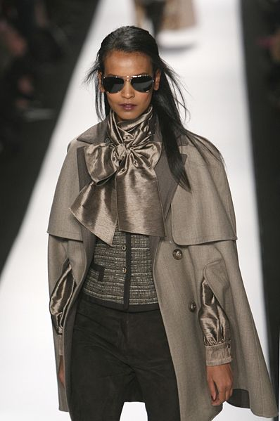 Liya Kebede on the catwalk. WORK.                  (wikipedia)